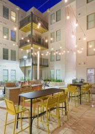 The Standard Raleigh Private Courtyard