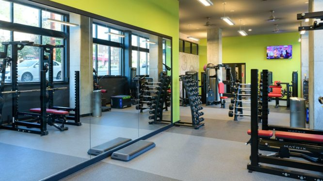 The Standard Raleigh Fitness Center